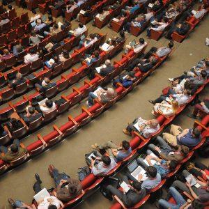 event, auditorium, conference